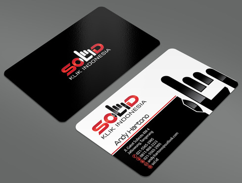 PT. Solid Klik Indonesia Business Cards and Stationery  Draft # 92 by ArtworksKingdom