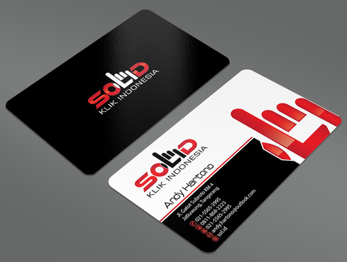 PT. Solid Klik Indonesia Business Cards and Stationery  Draft # 93 by ArtworksKingdom