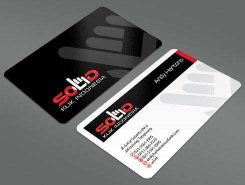 PT. Solid Klik Indonesia Business Cards and Stationery  Draft # 97 by ArtworksKingdom