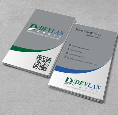 Devlan Group, Land Development and Consulting Business Cards and Stationery  Draft # 280 by Dawson