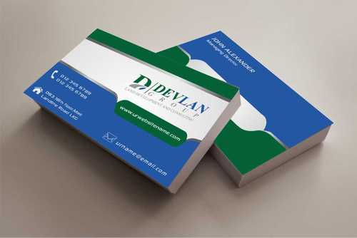 Devlan Group, Land Development and Consulting Business Cards and Stationery  Draft # 281 by Dawson