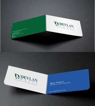 Devlan Group, Land Development and Consulting Business Cards and Stationery  Draft # 282 by Dawson