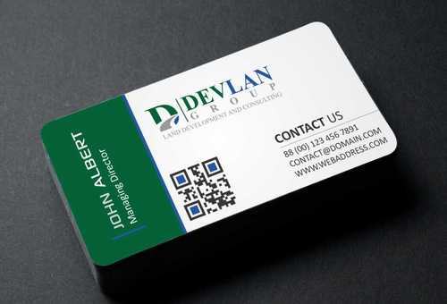 Devlan Group, Land Development and Consulting Business Cards and Stationery  Draft # 286 by Dawson
