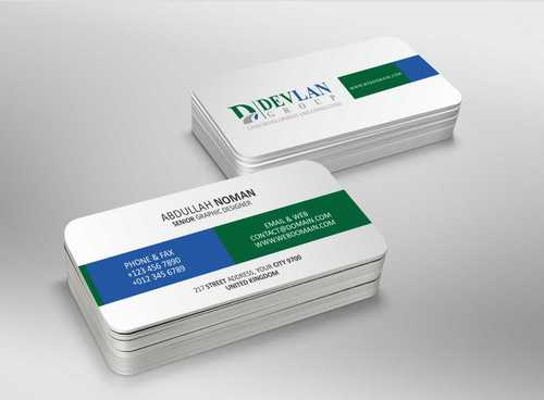 Devlan Group, Land Development and Consulting Business Cards and Stationery  Draft # 287 by Dawson