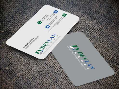Devlan Group, Land Development and Consulting Business Cards and Stationery  Draft # 288 by Dawson