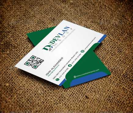 Devlan Group, Land Development and Consulting Business Cards and Stationery  Draft # 293 by Dawson
