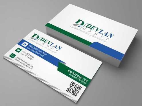 Devlan Group, Land Development and Consulting Business Cards and Stationery  Draft # 297 by Dawson