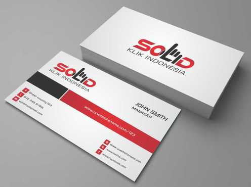 PT. Solid Klik Indonesia Business Cards and Stationery  Draft # 181 by Dawson