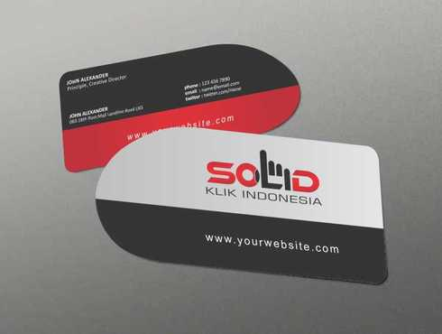 PT. Solid Klik Indonesia Business Cards and Stationery  Draft # 182 by Dawson