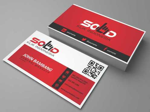 PT. Solid Klik Indonesia Business Cards and Stationery  Draft # 183 by Dawson