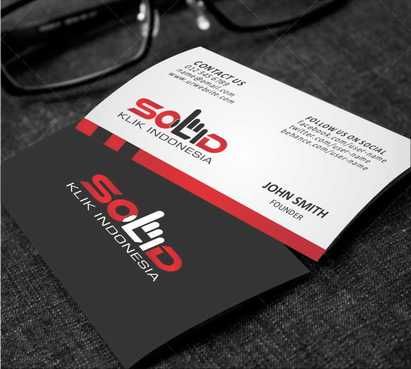 PT. Solid Klik Indonesia Business Cards and Stationery  Draft # 184 by Dawson