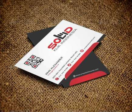PT. Solid Klik Indonesia Business Cards and Stationery  Draft # 185 by Dawson