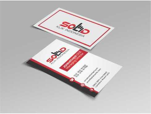 PT. Solid Klik Indonesia Business Cards and Stationery  Draft # 186 by Dawson