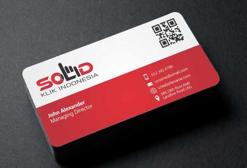 PT. Solid Klik Indonesia Business Cards and Stationery  Draft # 187 by Dawson