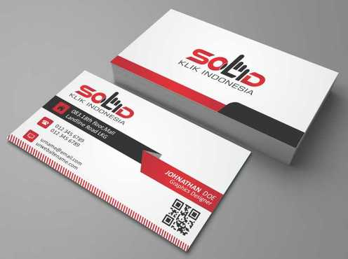 PT. Solid Klik Indonesia Business Cards and Stationery  Draft # 194 by Dawson