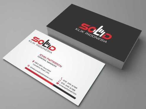 PT. Solid Klik Indonesia Business Cards and Stationery  Draft # 196 by Dawson