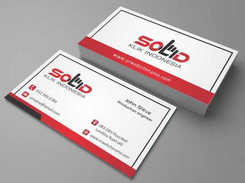 PT. Solid Klik Indonesia Business Cards and Stationery  Draft # 197 by Dawson