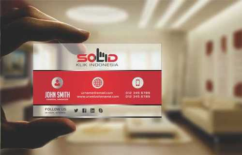 PT. Solid Klik Indonesia Business Cards and Stationery  Draft # 199 by Dawson