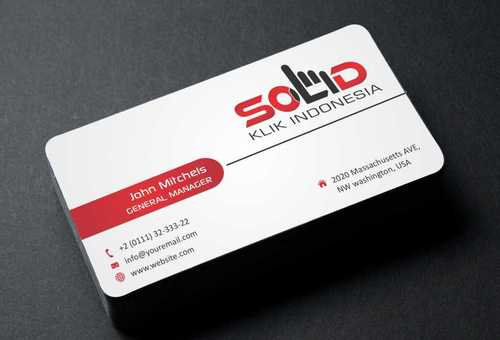 PT. Solid Klik Indonesia Business Cards and Stationery  Draft # 200 by Dawson