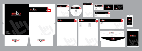PT. Solid Klik Indonesia Business Cards and Stationery  Draft # 201 by ArtworksKingdom