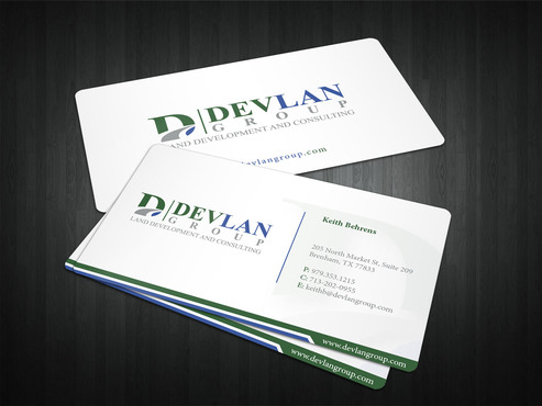 Devlan Group, Land Development and Consulting Business Cards and Stationery  Draft # 318 by i3designer