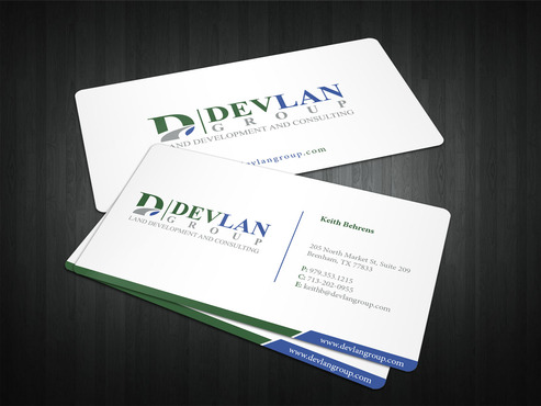 Devlan Group, Land Development and Consulting Business Cards and Stationery  Draft # 319 by i3designer