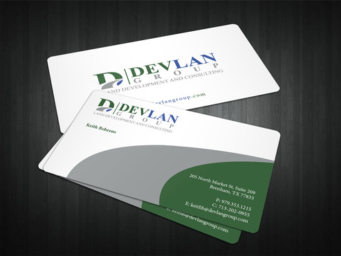 Devlan Group, Land Development and Consulting Business Cards and Stationery  Draft # 320 by i3designer
