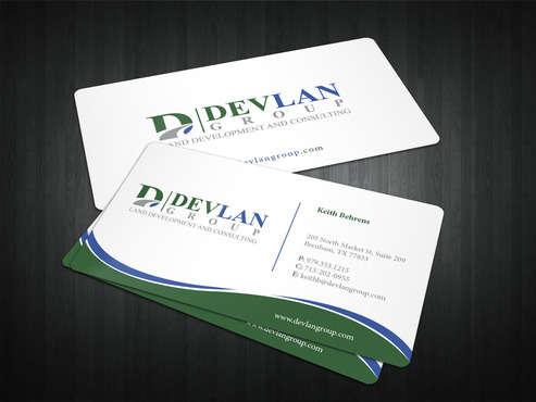 Devlan Group, Land Development and Consulting Business Cards and Stationery  Draft # 321 by i3designer