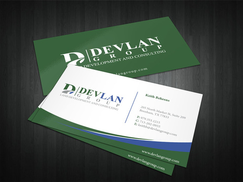 Devlan Group, Land Development and Consulting Business Cards and Stationery  Draft # 322 by i3designer