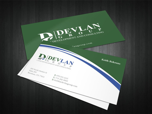 Devlan Group, Land Development and Consulting Business Cards and Stationery  Draft # 323 by i3designer