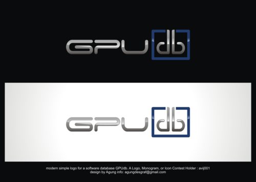 GPUdb  A Logo, Monogram, or Icon  Draft # 1204 by agungdesgraf