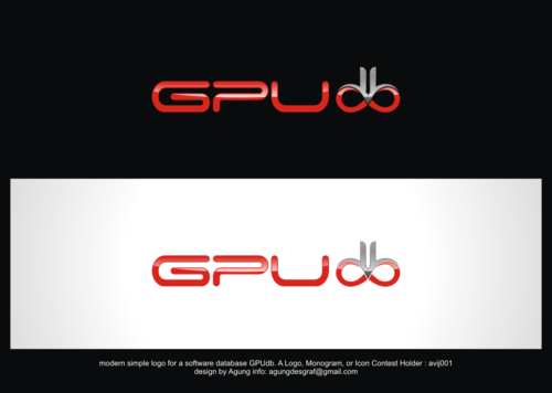 GPUdb  A Logo, Monogram, or Icon  Draft # 1242 by agungdesgraf