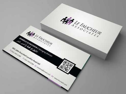 Le Faucheur Associates  Business Cards and Stationery  Draft # 79 by Dawson