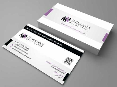 Le Faucheur Associates  Business Cards and Stationery  Draft # 82 by Dawson