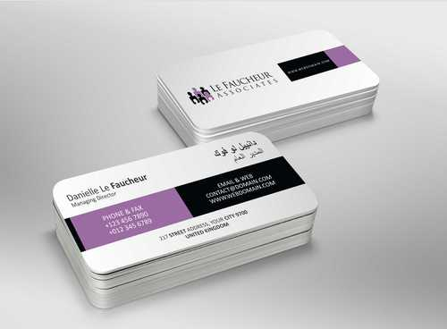 Le Faucheur Associates  Business Cards and Stationery  Draft # 89 by Dawson