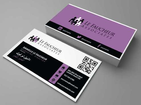 Le Faucheur Associates  Business Cards and Stationery  Draft # 90 by Dawson