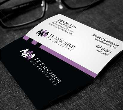 Le Faucheur Associates  Business Cards and Stationery  Draft # 91 by Dawson