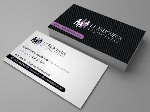 Le Faucheur Associates  Business Cards and Stationery  Draft # 92 by Dawson