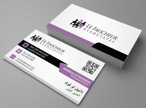Le Faucheur Associates  Business Cards and Stationery  Draft # 93 by Dawson