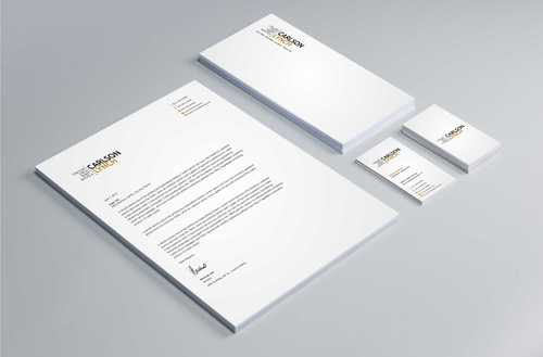 Modern and Professional Business Cards and Stationery  Draft # 300 by Dawson