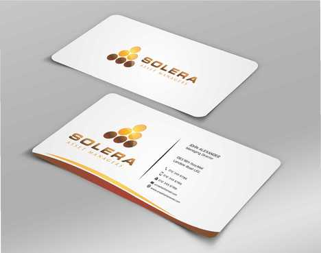 Solera Asset Managers, LLC Business Cards and Stationery  Draft # 208 by Dawson