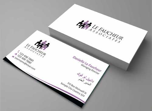 Le Faucheur Associates  Business Cards and Stationery  Draft # 94 by Dawson