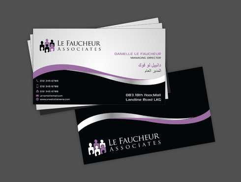 Le Faucheur Associates  Business Cards and Stationery  Draft # 97 by Dawson