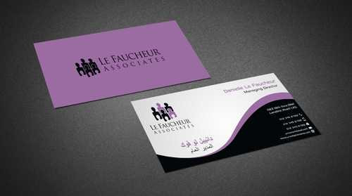Le Faucheur Associates  Business Cards and Stationery  Draft # 96 by Dawson