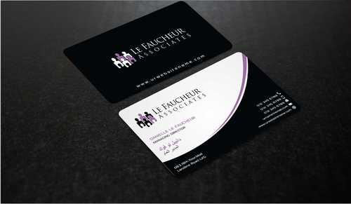 Le Faucheur Associates  Business Cards and Stationery  Draft # 99 by Dawson