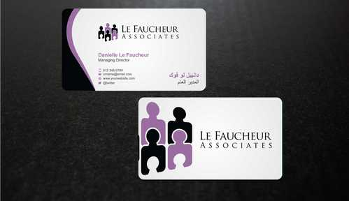 Le Faucheur Associates  Business Cards and Stationery  Draft # 103 by Dawson