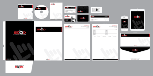 PT. Solid Klik Indonesia Business Cards and Stationery  Draft # 238 by ArtworksKingdom