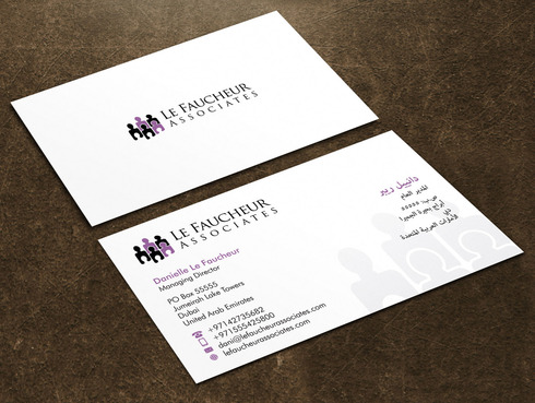 Le Faucheur Associates  Business Cards and Stationery  Draft # 112 by Xpert