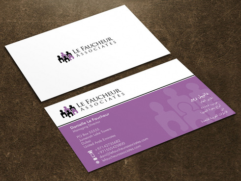 Le Faucheur Associates  Business Cards and Stationery  Draft # 113 by Xpert