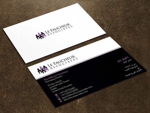 Le Faucheur Associates  Business Cards and Stationery  Draft # 115 by Xpert
